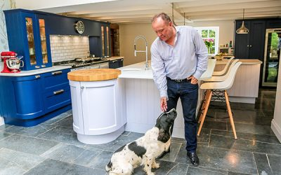 Charles Yorke Porto Kitchen Design in Somerset